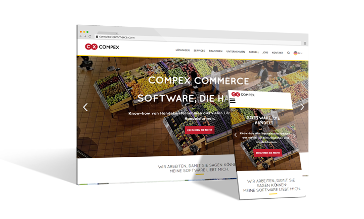 Multidomain-System COMPEX COMMERCE